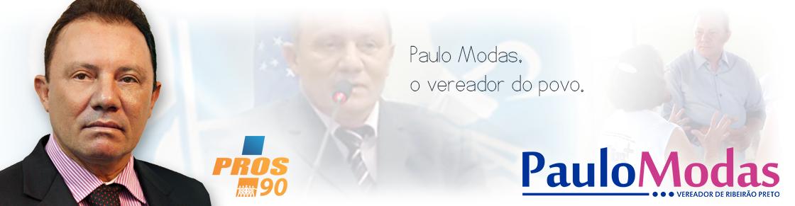 Vereador Paulo Modas