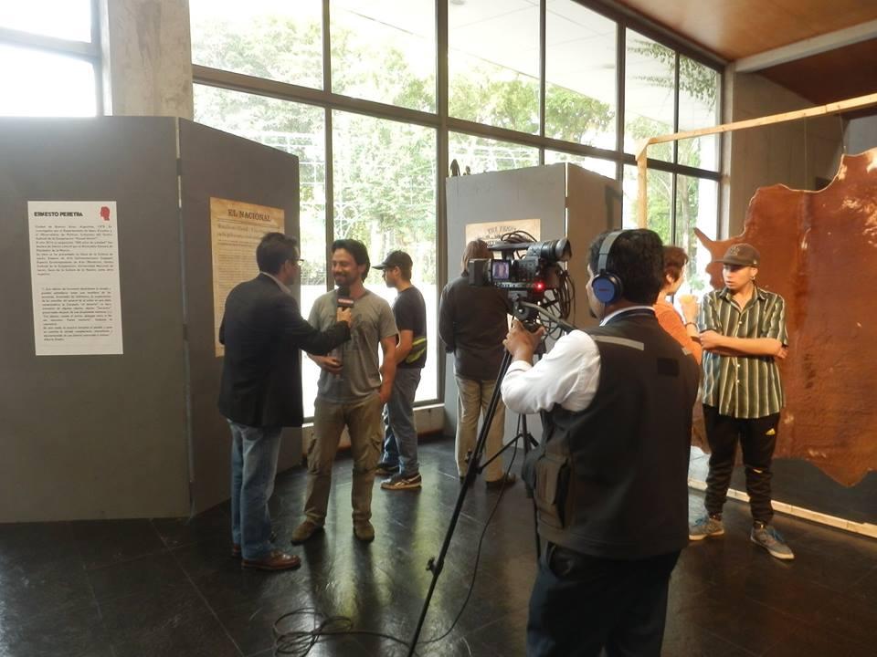 muestra Inventario de Campaña en Espacio Matta, Santiago de Chile