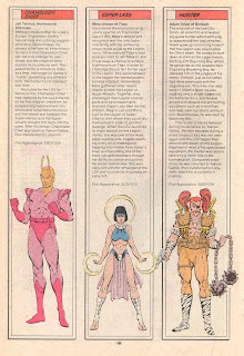 Esper Lass, Camaleon Jefe y Hunter (ficha dc comics)