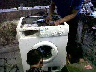 Perbaikan modul mesin cuci Gunung Gangsir