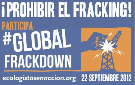 22 de septiembre, DA INTERNACIONAL CONTRA EL FRACKING.