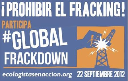 22 de septiembre, DÍA INTERNACIONAL CONTRA EL FRACKING.