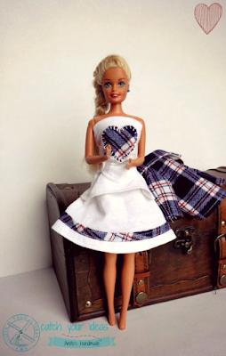Barbie, lalka Barbie, ubranko dla Barbie, ubranko dla lalki, ubranko dla barbie handmade, barbie's clothes, barbie clothes, barbie jacket, barbie trousers, spodnie dla Barbie, ubranko dla Barbie, spódniczka dla Barbie