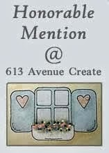 613 AVENUE CREATE - HONORABLE MENTION - CHALLENGE 171 ANYTHING GOES - 10 APRIL 2016