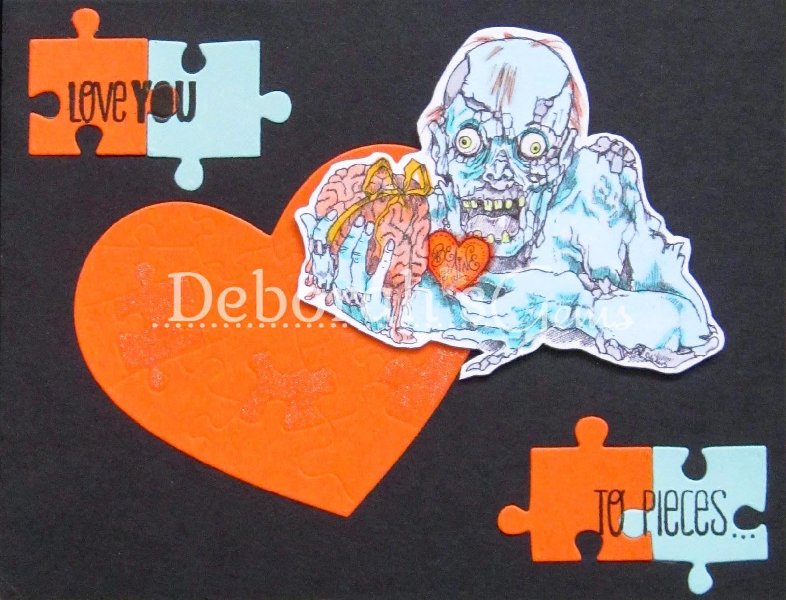 Love You to Pieces - photo by Deborah Frings - Deborah's Gems
