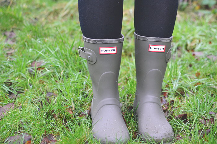 How To Style Hunter Boots | Colours and Carousels - Scottish Lifestyle, Beauty and Fashion blog