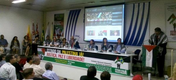 Embaixador da Palestina agradece a solidariedade do Brasil