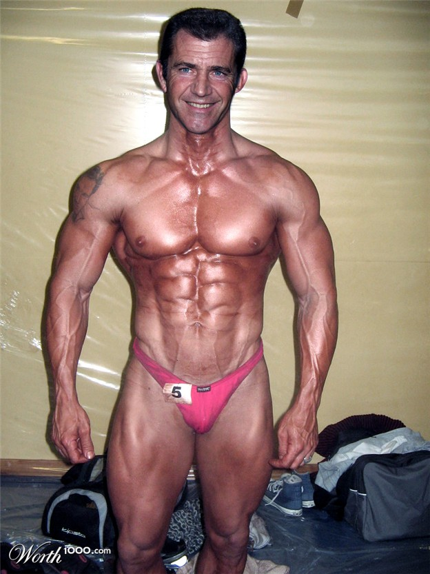 Mel Gibson 2013 Muscle...