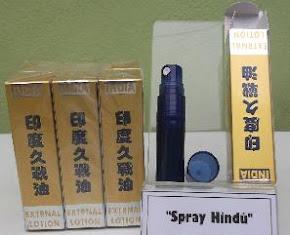Spray Hindú, Evita Eyacular Rápido