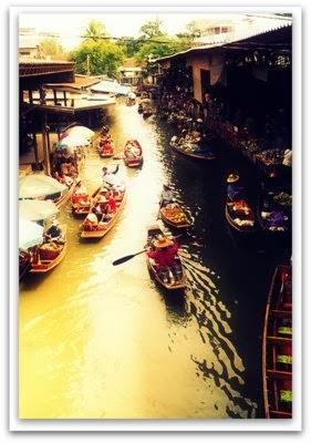 Floating Market Bangkok Klongs