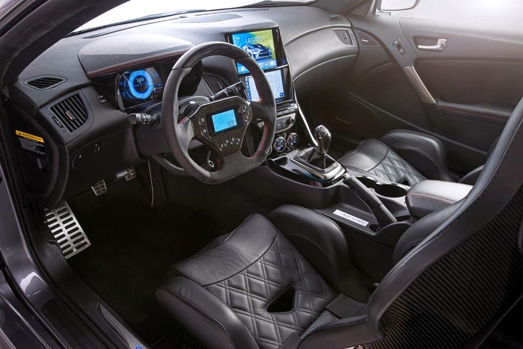 Interior View Of Hyundai Legato Concept (Picture From: Http