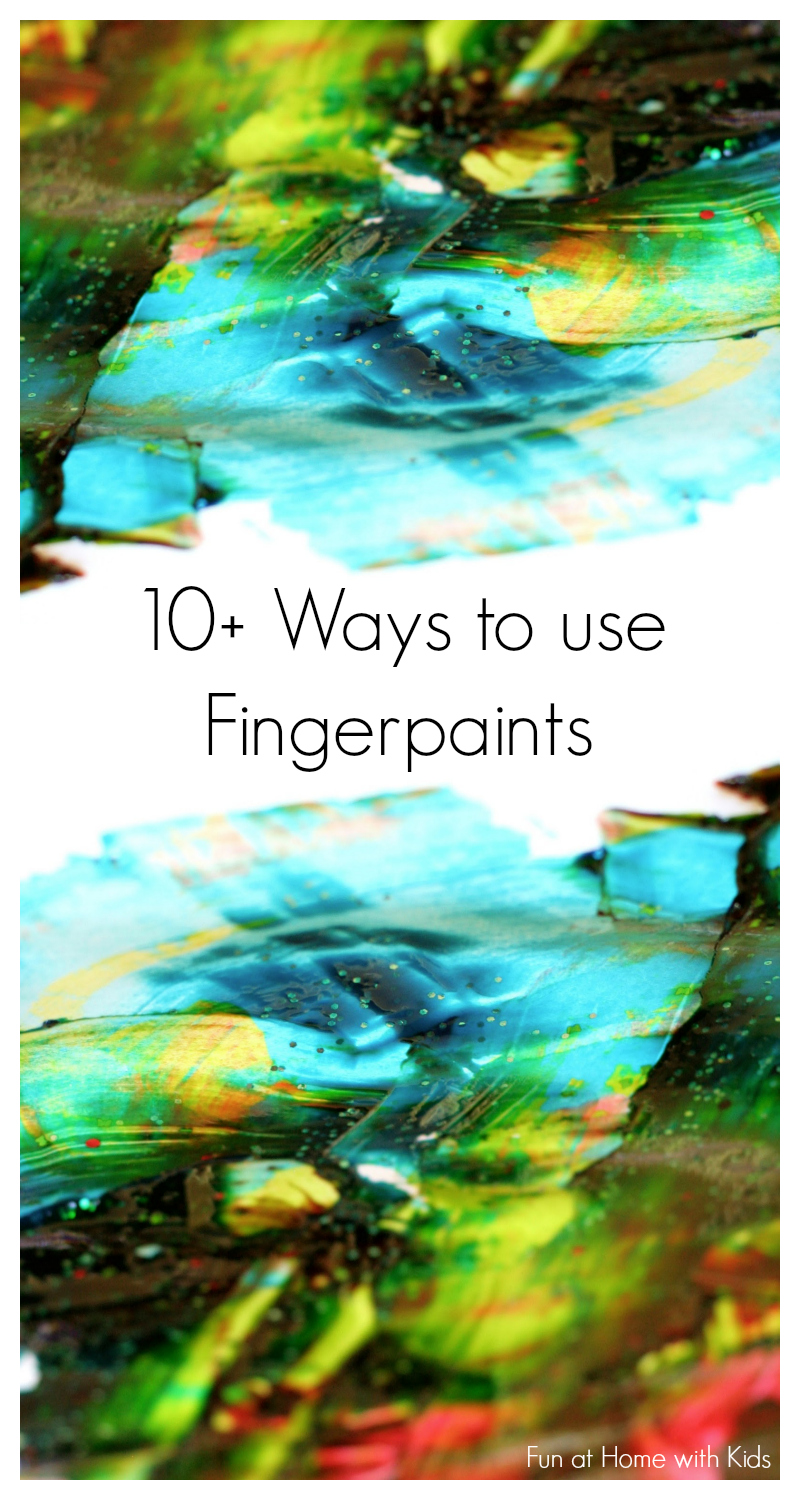 10 ways to use fingerpaints