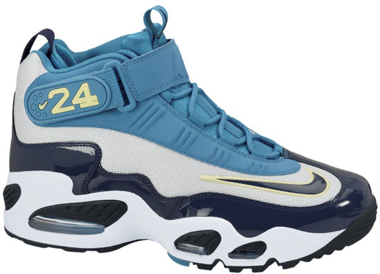 the latest b2f00 2e3f3 Nike Air Griffey Max 1 Pure Platinum Midnight Navy-Neo Turquoise-Black Now  Available