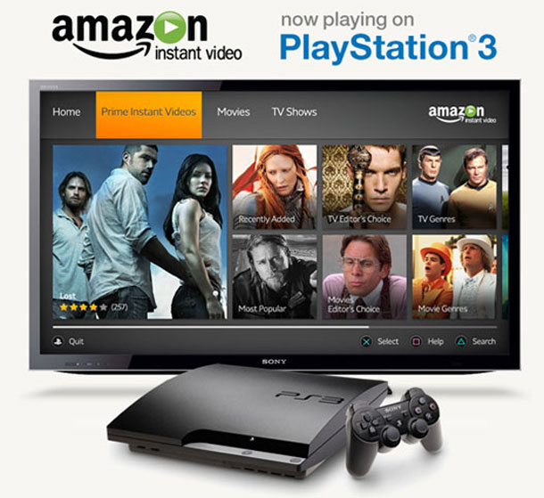 Amazon Streaming hit PS3