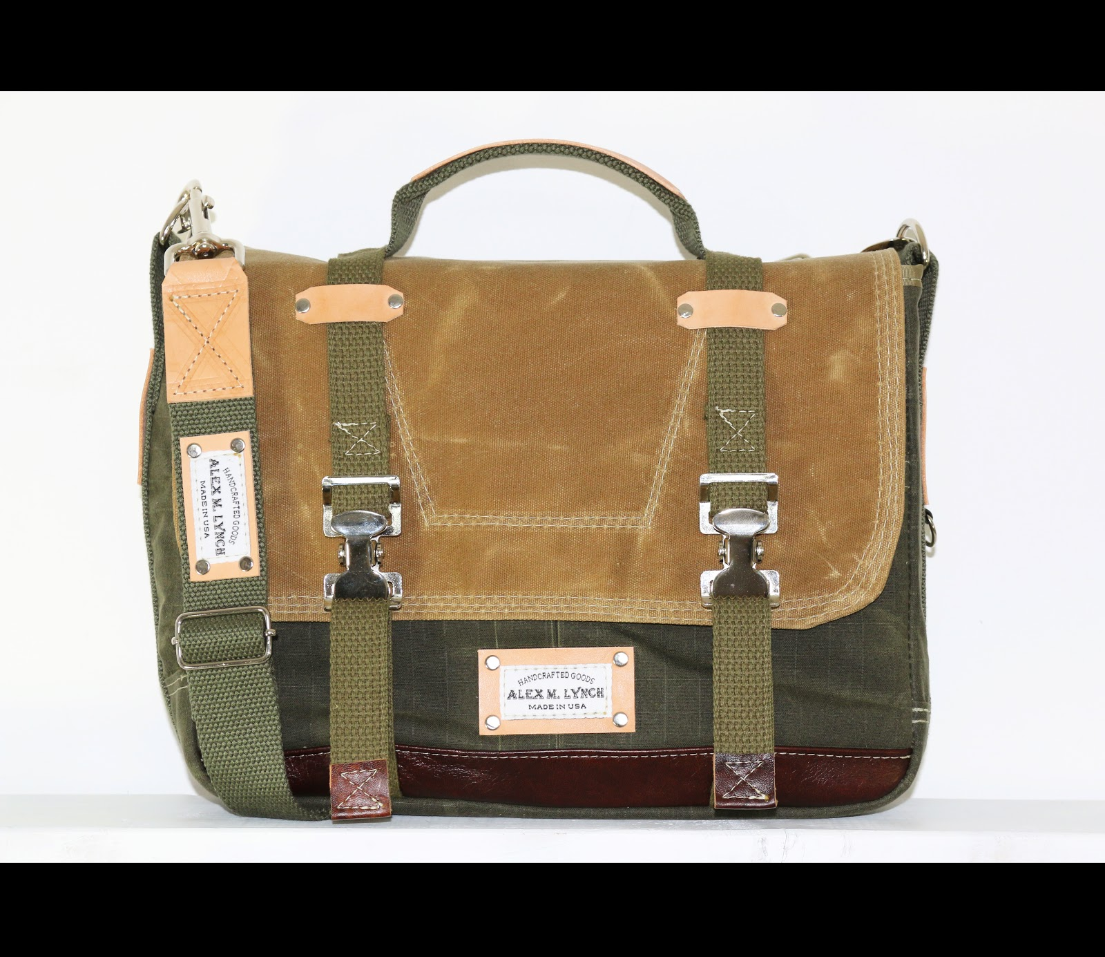 Laptop Messenger Bag Made In Usa