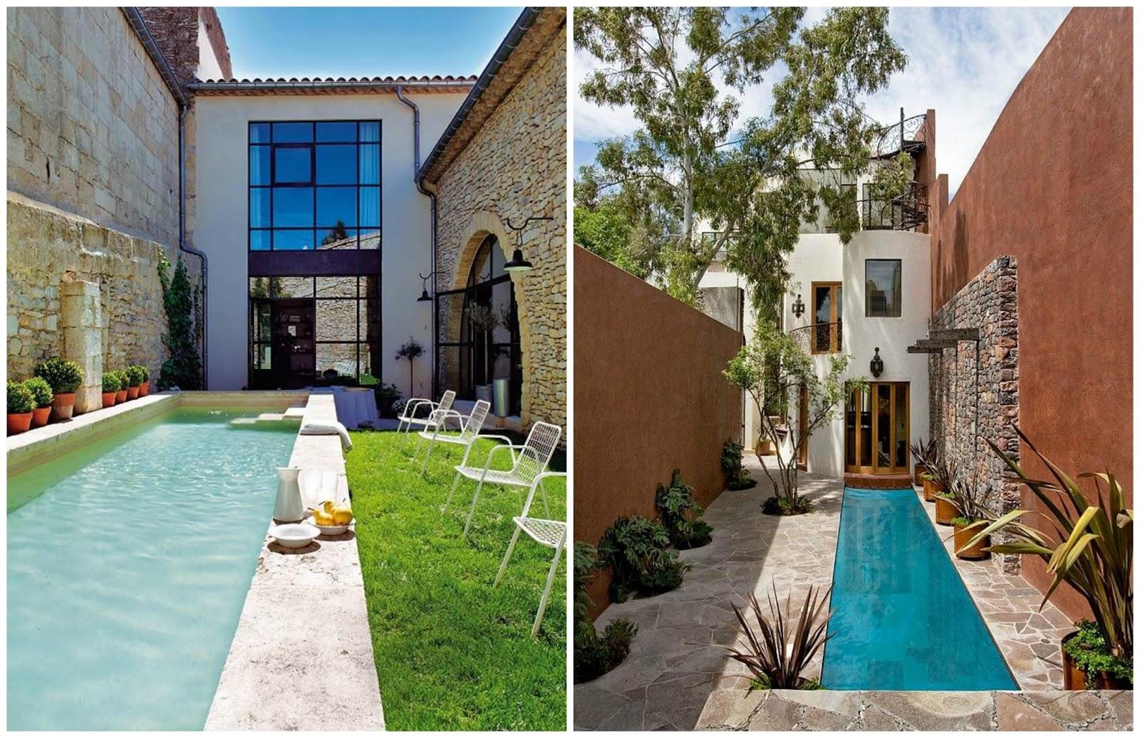 100 tonos de verde buscando inspiracion piscinas perfectas for Decoracion patio con piscina