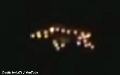 Enormous Flying Object Videotaped Over Medellín 2-19-14