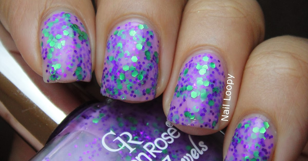 Nail Loopy GOLDEN ROSE JOLLY JEWELS 105