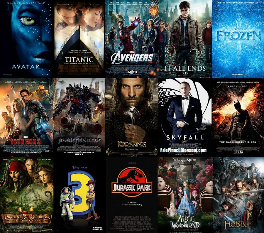 Daftar 100 Film Box Office Terlaris Sepanjang Masa
