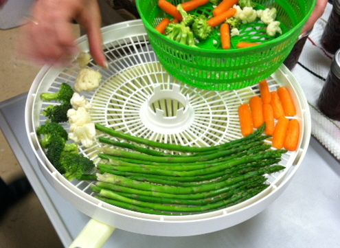 Dehydrating recipes canning homemade asparagus and other assorted veggies mfp class 12 hours at 135 degrees forumfinder Images