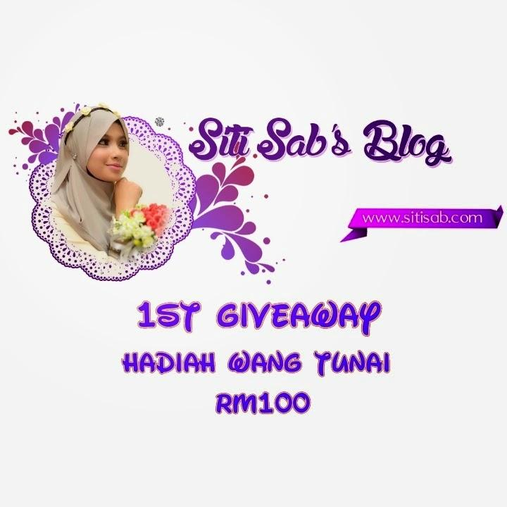 Giveaway, Siti Sab