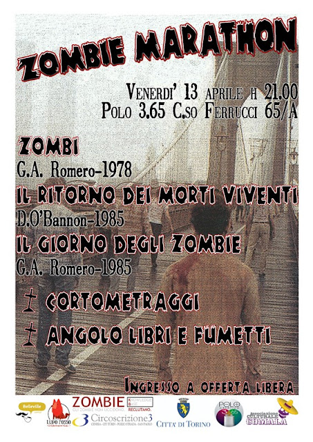 Zombie Marathon a Torino: 13 Aprile 2012