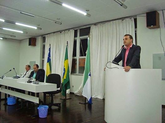 """""""O DIÁRIO OFICIAL DO MUNICÍPIO NÃO FUNCIONA"""", AFIRMA MAX AO SOLICITAR ATUALIZAÇÃO DA PÁGINA."""