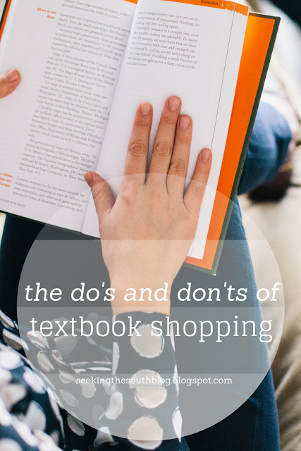 The Do's and Don'ts of Textbook Shopping