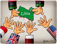 Firmas contra agresión a Libia