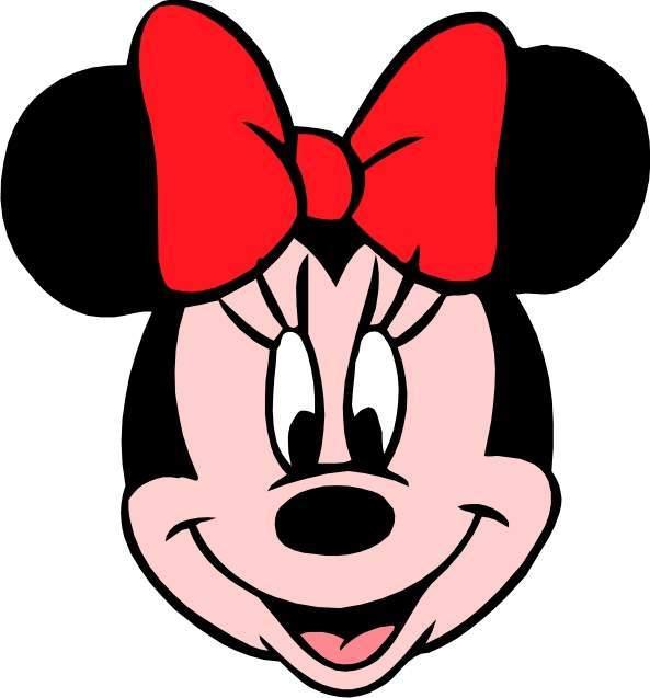 Imagenes cara de Minnie Mouse - Imagui