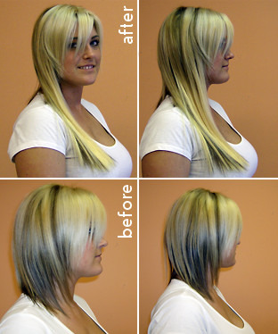 Thinning Hair Part Extensions 7