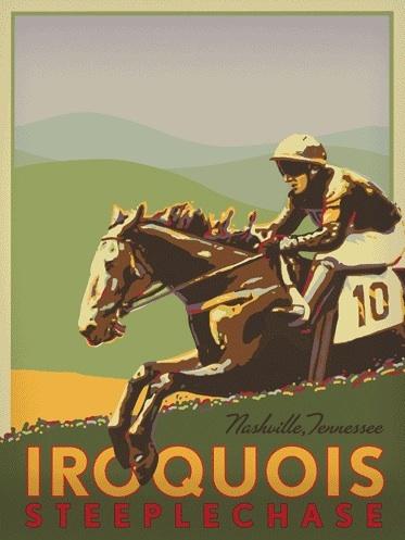 Iroquois steeplechase logo