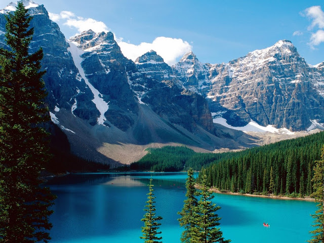 beautiful places in the world The Canadian Rockies