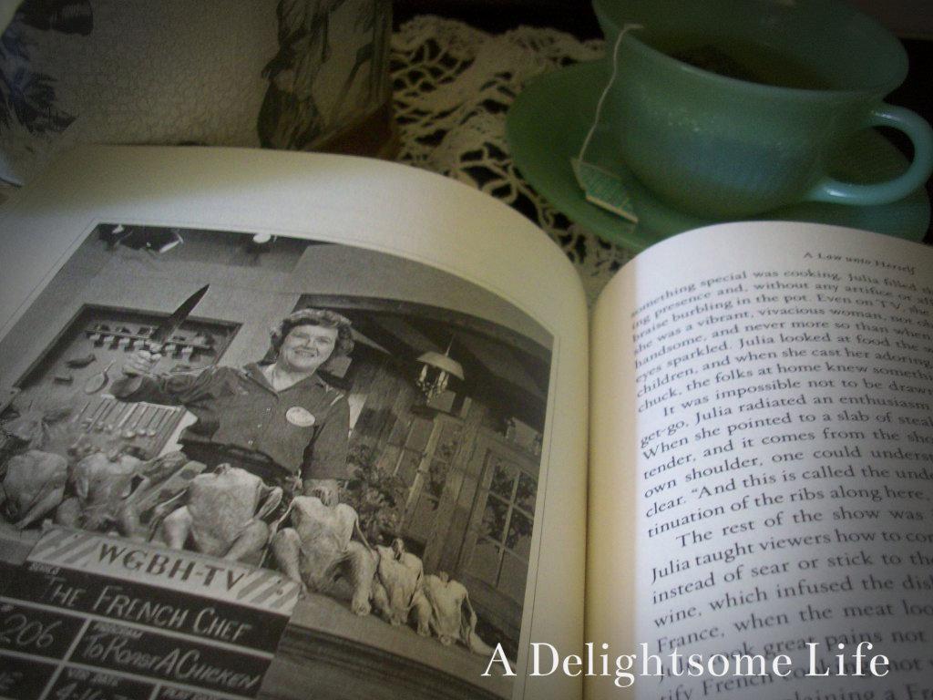 Julia Child 7 book lot: Cookbooks Biography Tips Tricks Techniques Recipes