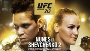 UFC 213 - CARD DE LUTAS