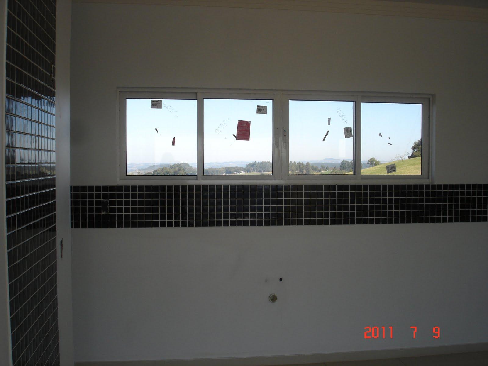 #2384A8 sábado 9 de julho de 2011 42 Janelas De Vidro Cozinha