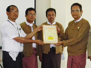 ကိုယ္စားမ်ားစြာျဖင့္ ႐ုပ္႐ွင္သူရဲေကာင္းဆု႐ွင္  (Kyaw Thu, FFSS Yangon)
