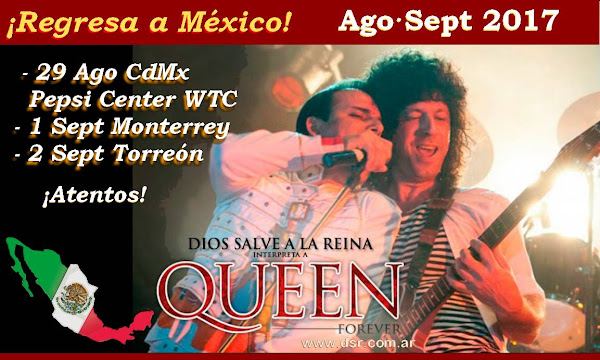 DIOS SALVE A LA REINA REGRESA A MEXICO AGO/SEPT 2017