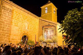 Cristo de Chircales saliendo de procesión