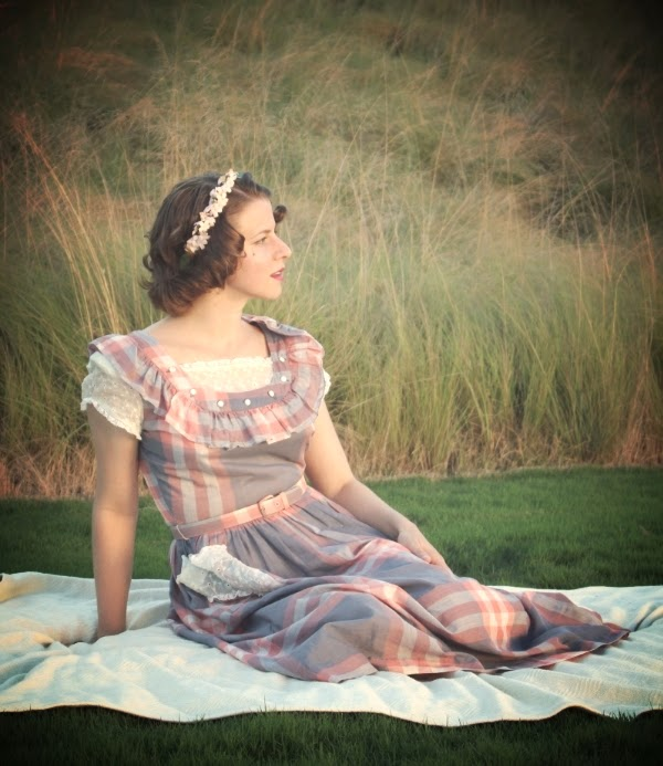 My 1940s Summer Evening #vintage #fashion #40s #style #1940s