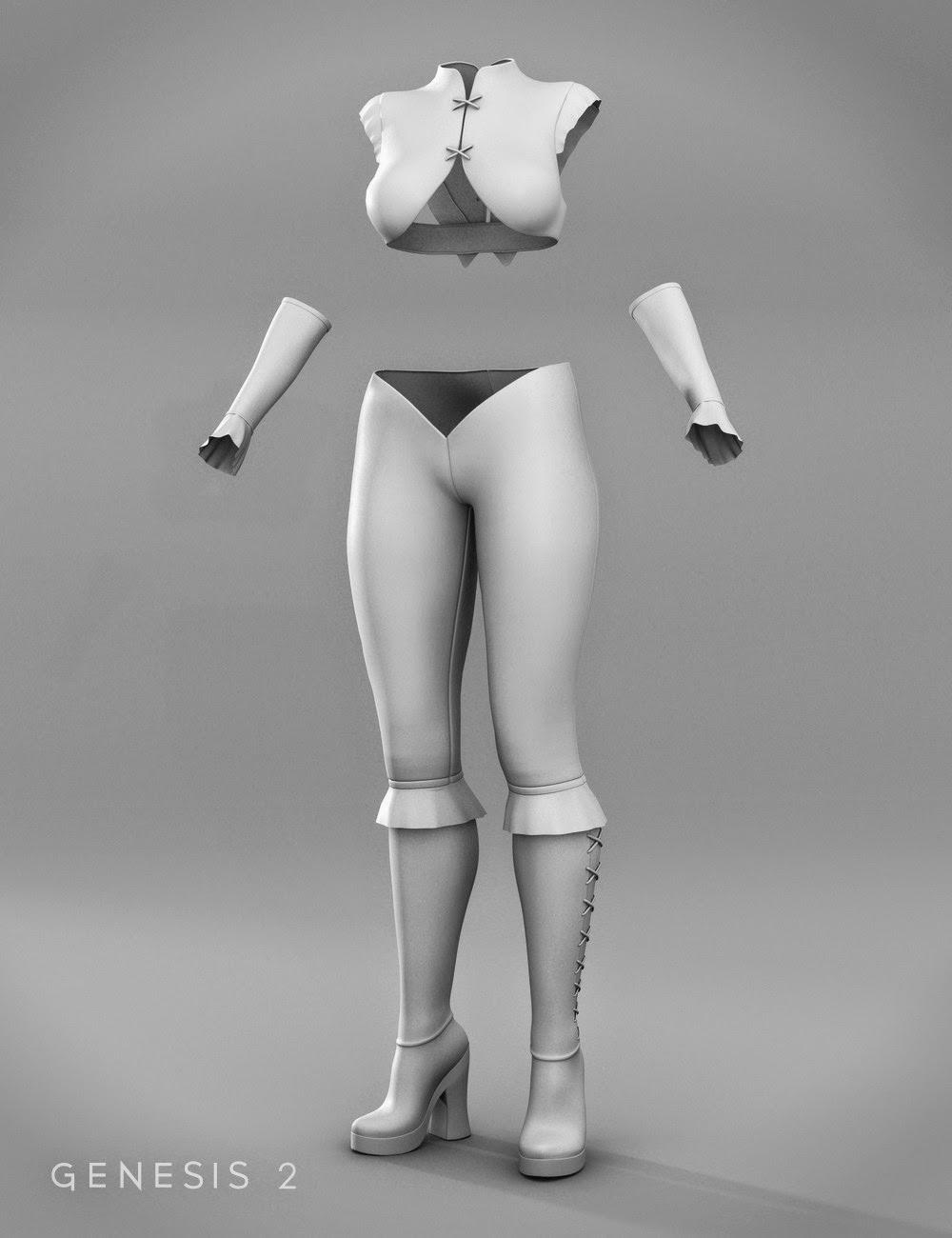 La Matadora Outfit pour Genesis 2 Femme