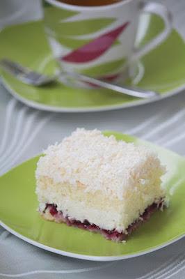 Łabędzi puch - ciasto kokosowe
