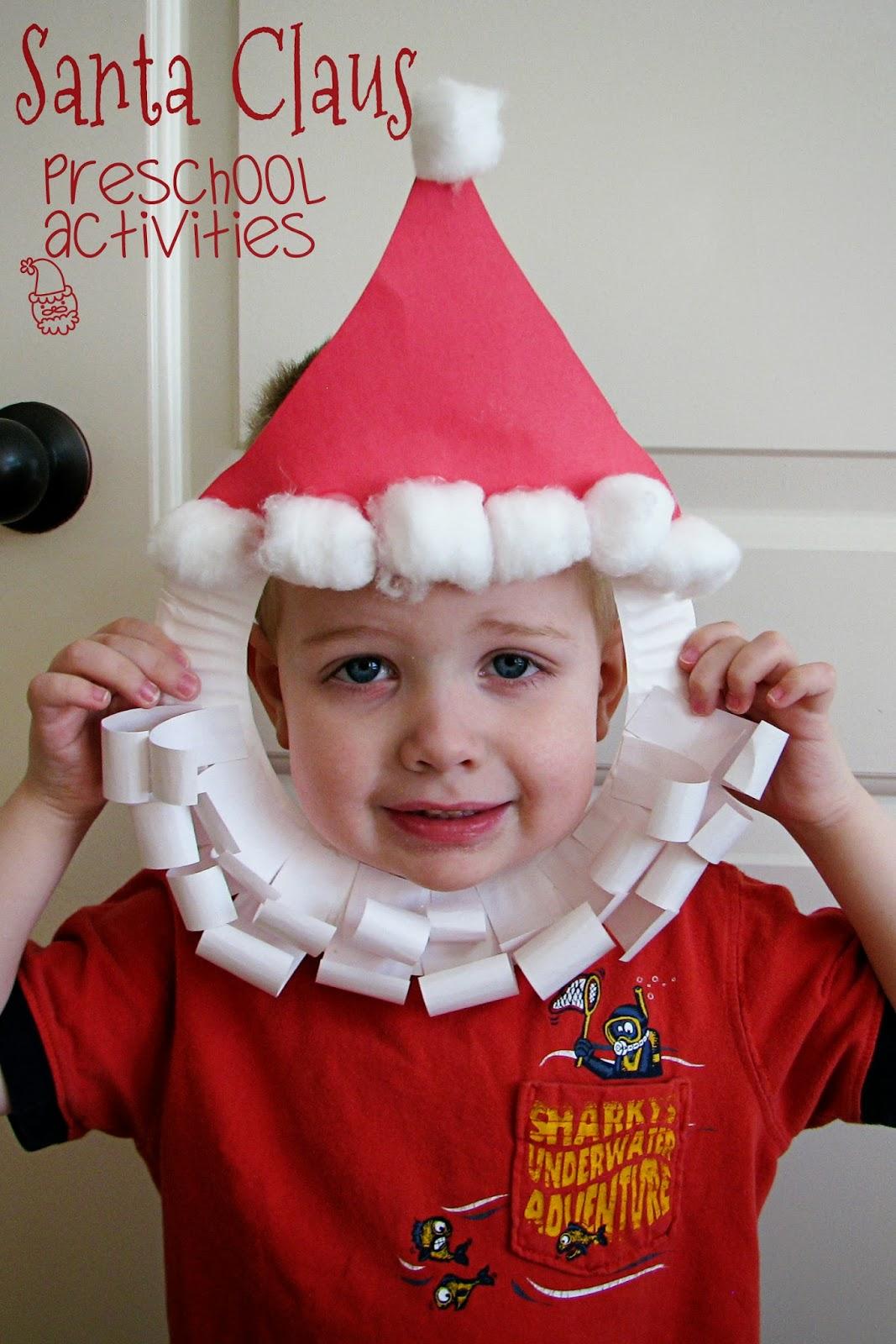 santa claus preschool theme - Santa Claus Activities