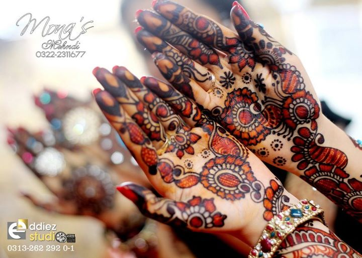 BridalmehndiwwwShe9blogspotcom252872529 - Embroidered Mehndi