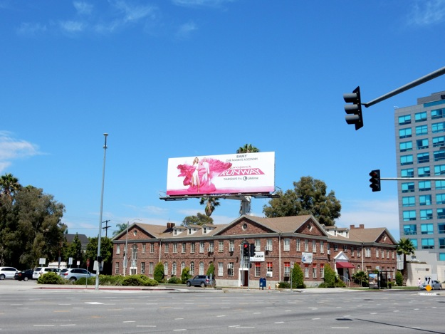 Project Runway season 14 billboard