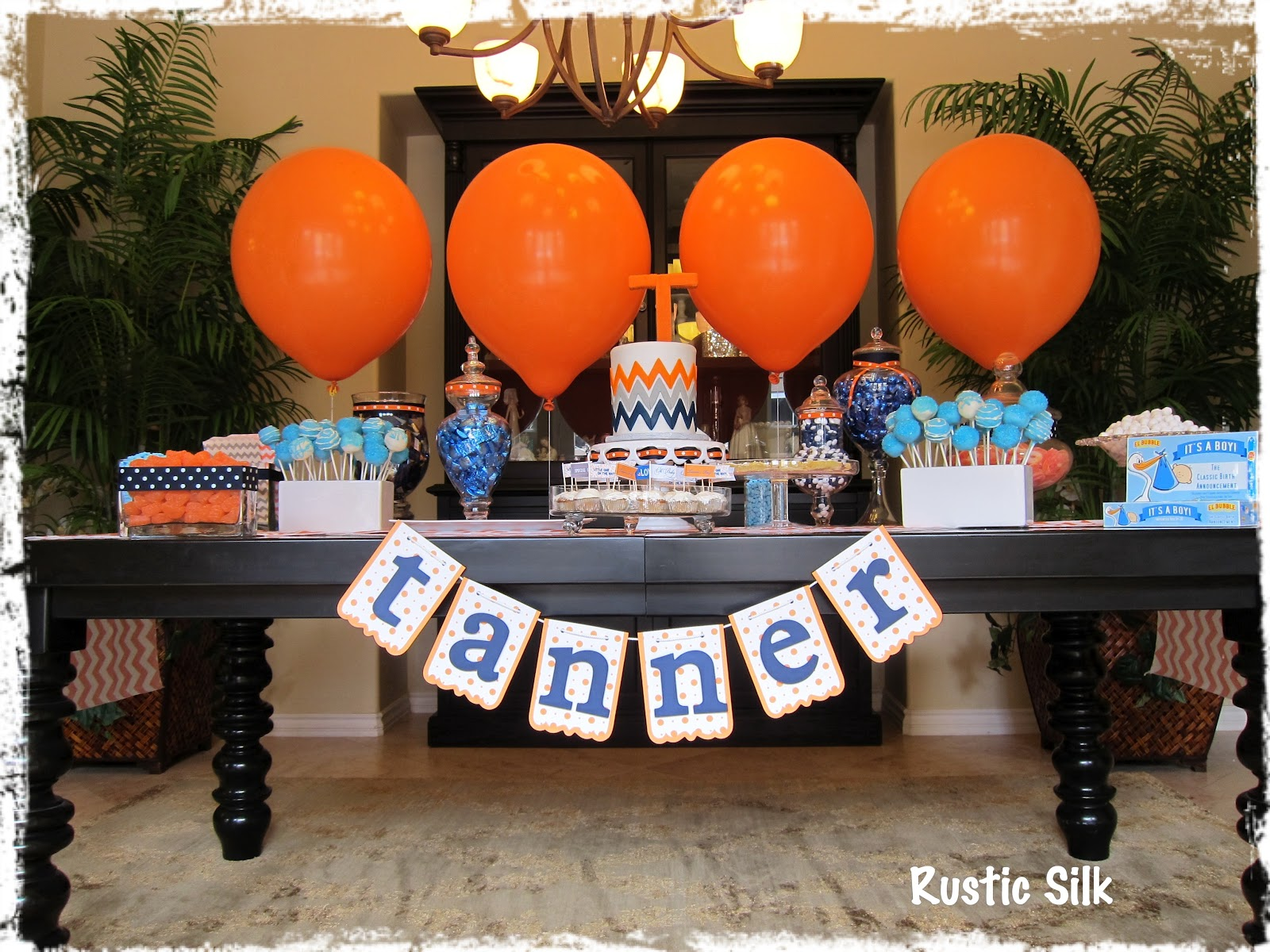 rustic silk baby shower pt 2 candy
