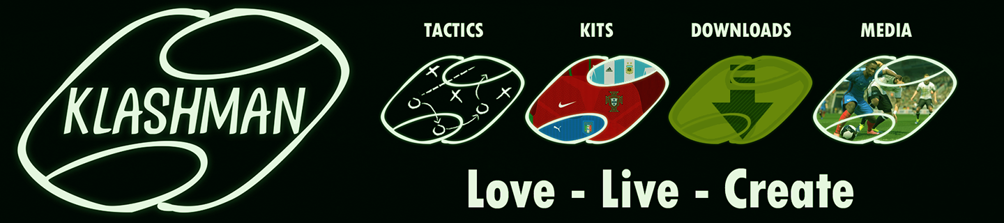 Klashman69 Love, Live and Create football gaming