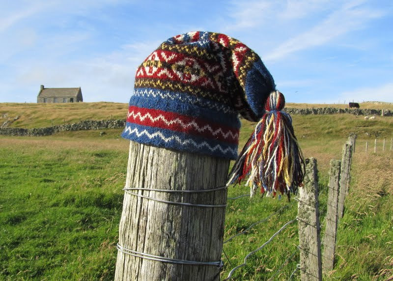 Fair Isle: Hand Knit Fair Isle Fisherman's Kep (Hat) - The Tall ...