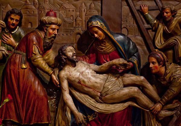 Jesus, La Cathedral, Palma de Mallorca, Spain.