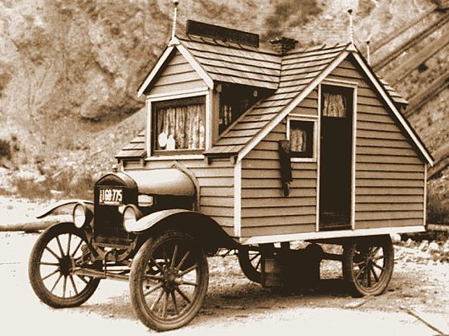 Little House On Wheels the flying tortoise: a quirky little house on wheels from the